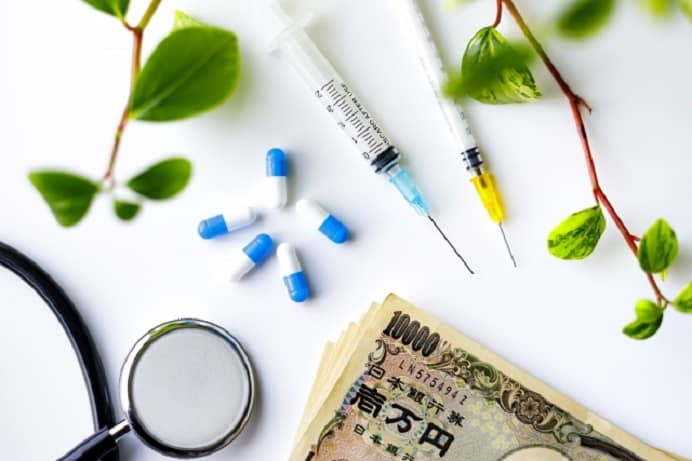 薬と注射とお金
