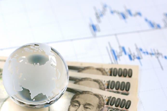 japanese yen bill and gloge